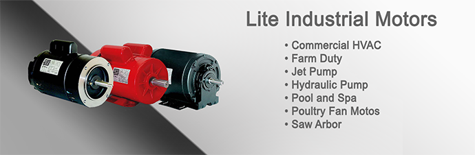 Lite Industrial Motor Product Pages