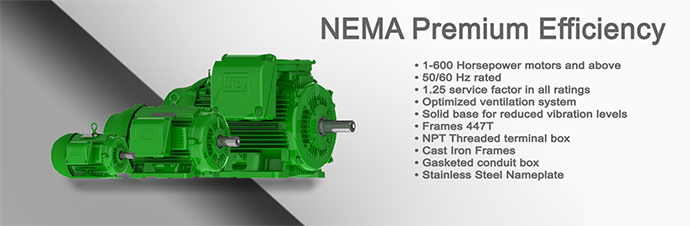 NEMA Premium Efficiency Motor Product Page