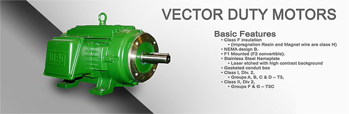 Vector Duty Motor Product Page